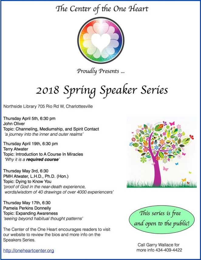 Flyer spring lecture series